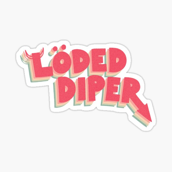 Loded Diper - Diary of a Wimpy Kid - Roderick Sticker
