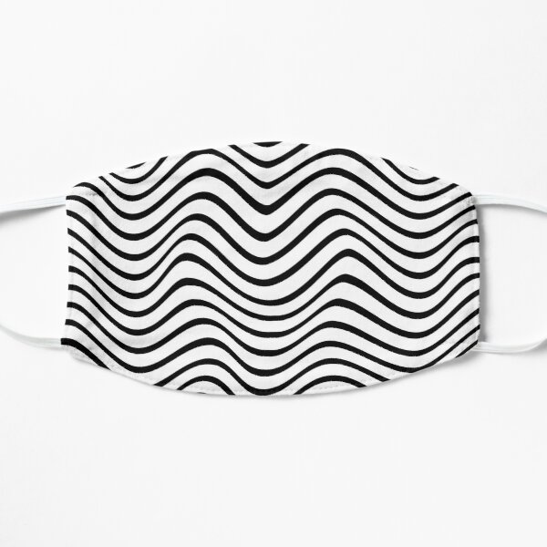 Wavy lines - White Mask