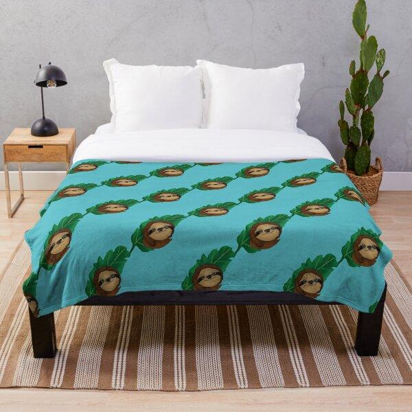 Sloth Life Throw Blanket