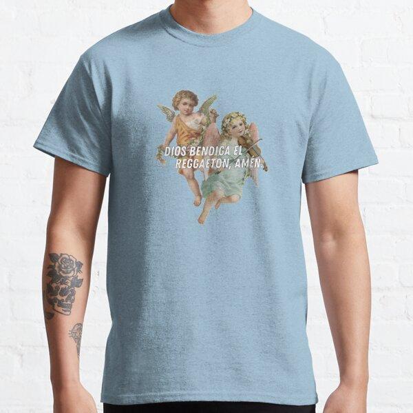 Dios bendiga el reggaeton amen Camiseta clásica