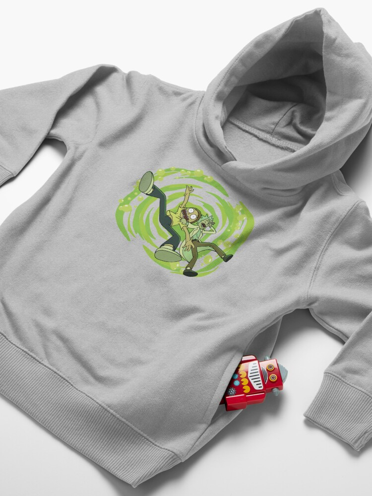 Alternate view of The Vat Of Acid Design (Rick & Morty) Toddler Pullover Hoodie