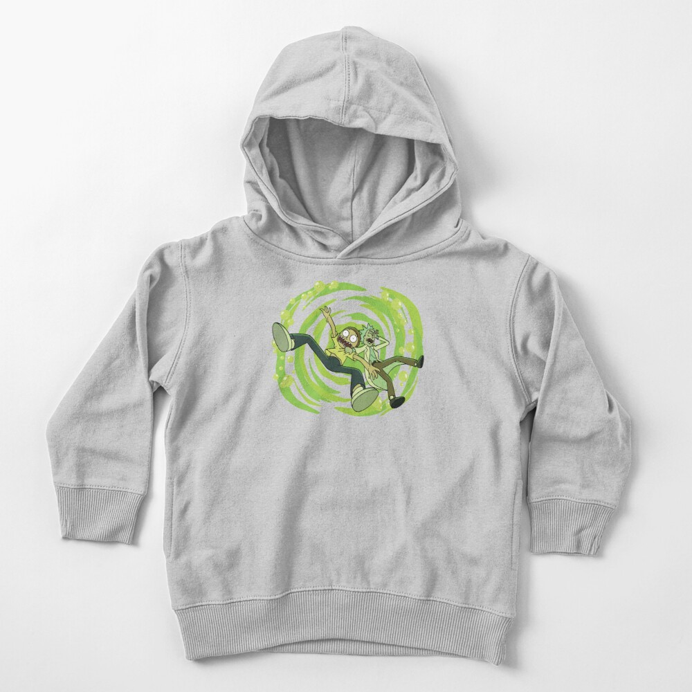 The Vat Of Acid Design (Rick & Morty) Toddler Pullover Hoodie
