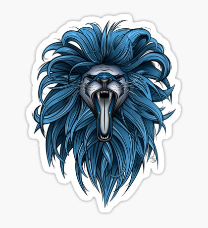 Detroit Roar Sticker