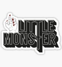 Little Monster Paws Up Sticker