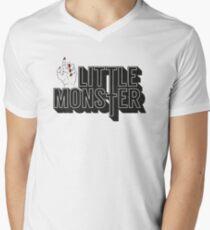 Little Monster Paws Up Men's V-Neck T-Shirt