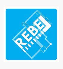 Electronic Rebellion Photographic Print