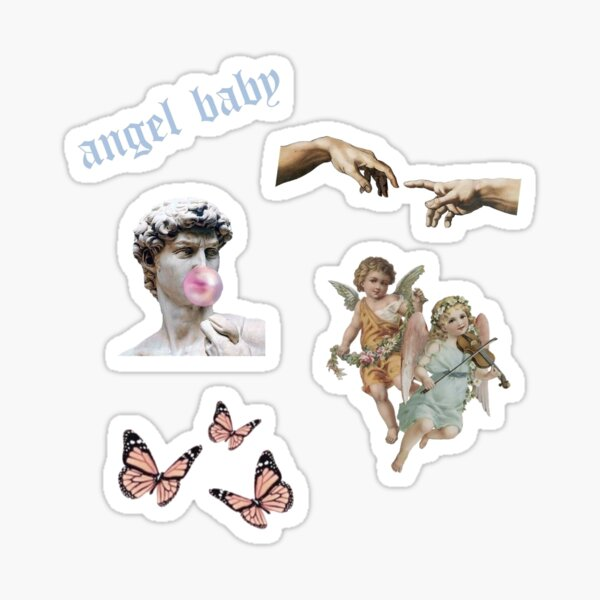 Angel Baby Collection Sticker