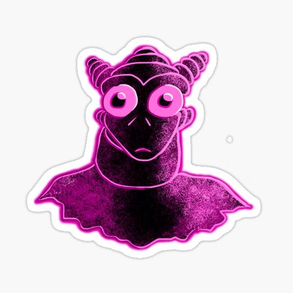 Pink Humanoid Sticker