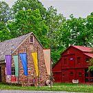 The Prallsville Mill Complex # 3 by Debra Fedchin