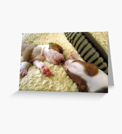 Twin Brother and Sister Greeting Card