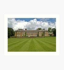 Upton House, Warwickshire, UK Art Print