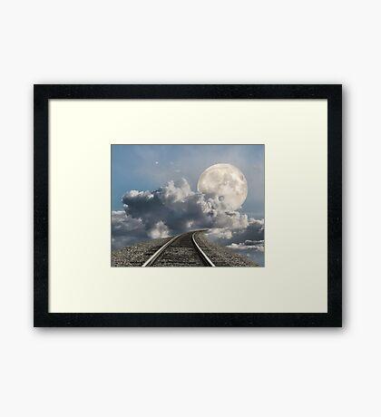 Supermoon 2012 Framed Print