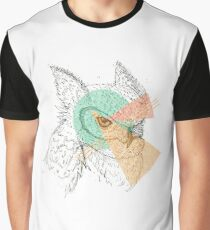 Simplistic Owl Graphic T-Shirt