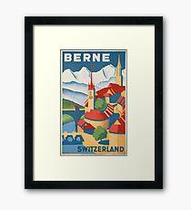 Vintage poster - Berne Framed Print