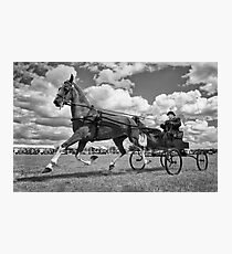 One Horse Power Photographic Print