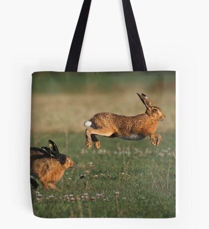 Hare Chase Tote Bag