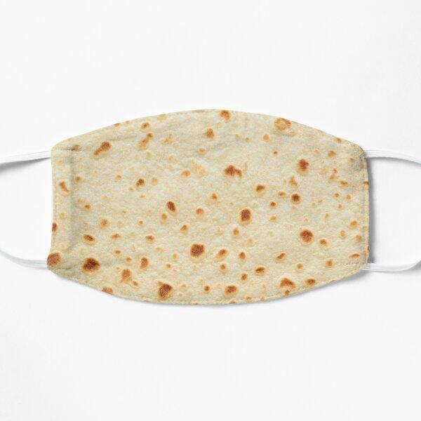 Burrito Flour Tortilla Design  Flat Mask