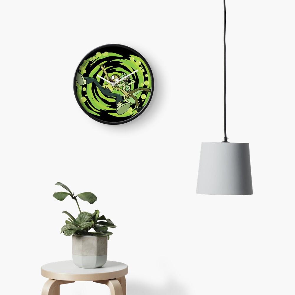 The Vat Of Acid Design (Rick & Morty) Clock