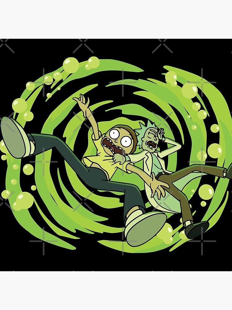 The Vat Of Acid Design (Rick & Morty) by castl3t0ndesign