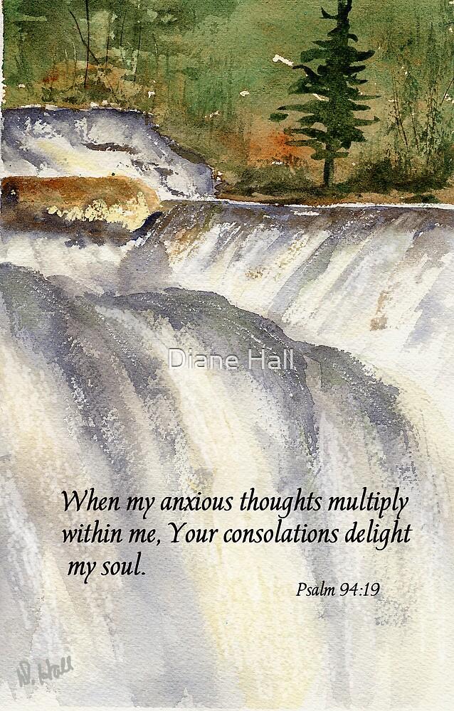 God's Peace- Psalm 94:19 by Diane Hall