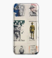 Symbols of Americanism iPhone Case/Skin