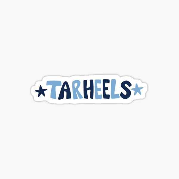 Tarheels with Stars Sticker