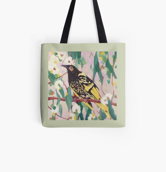 Regent Honeyeater All Over Print Tote Bag