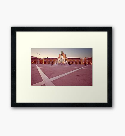 Terreiro do Paço. Lisbon Framed Print