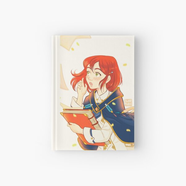 Snow White with red hair Hardcover Journal