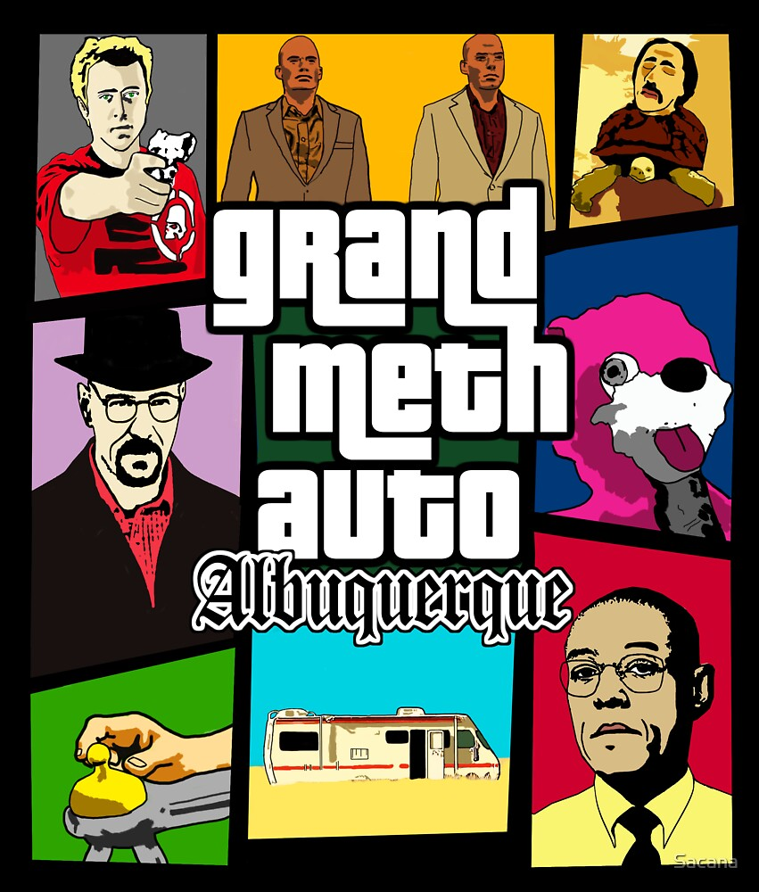 Grand Meth Auto by Sacana