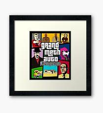 Grand Meth Auto Framed Print