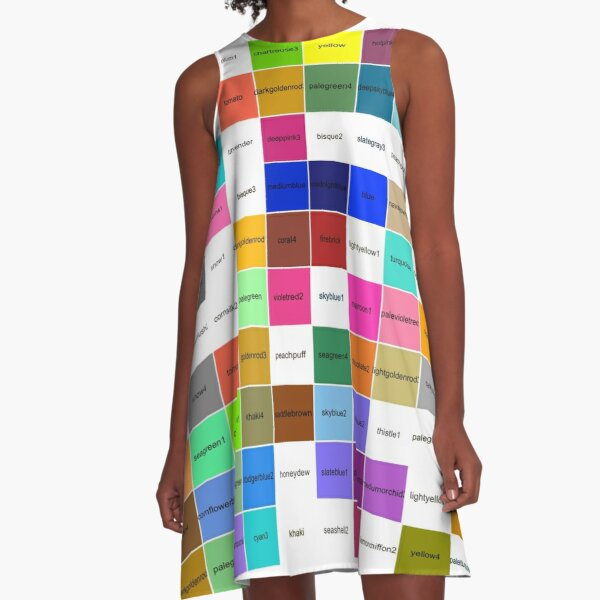 Visual illusion, Psychedelic Art, Psychedelic, Art, visual, illusion A-Line Dress