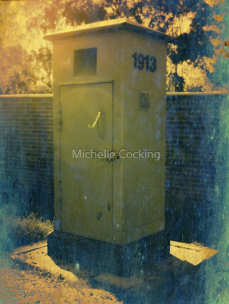 Vintage Post Box by Michelle Cocking