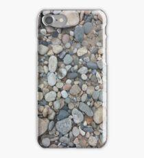 Ocean-Smoothed Stones in Narragansett, RI iPhone Case/Skin
