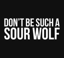 Sour Wolf - white text | Women's T-Shirt