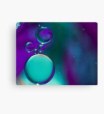 Blue Bubble's Canvas Print