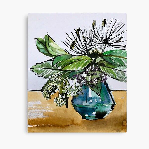Ivy Berries Canvas Print