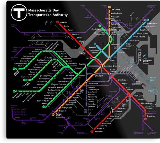 MBTA Boston Subway - The T by ianscott76
