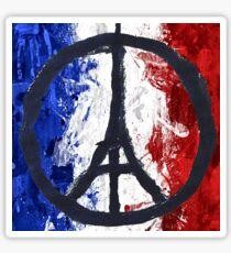 France Des Pray Prières Flag France Sticker