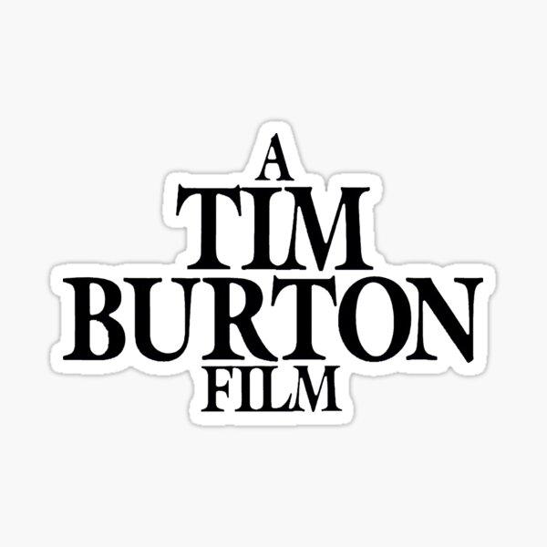 Una película de Tim Burton Pegatina