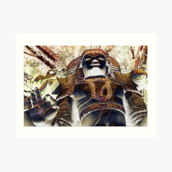 Shiva Power Art Print