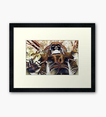 Shiva Power Framed Print