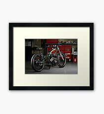Evolution Retro Jap' Bobber Framed Print