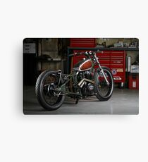 Evolution Retro Jap' Bobber Canvas Print