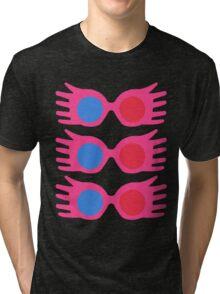 specs pattern Tri-blend T-Shirt