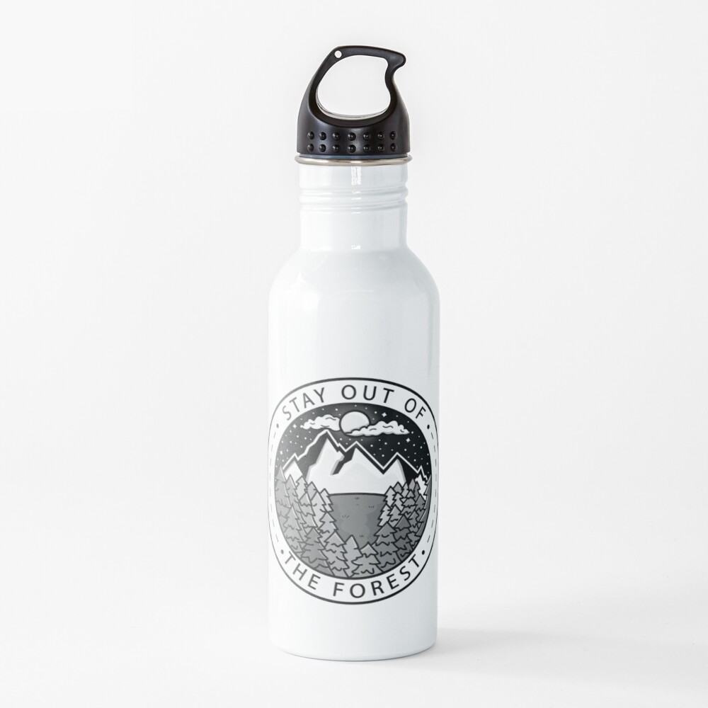Stay Out Of The Forest Water Bottle