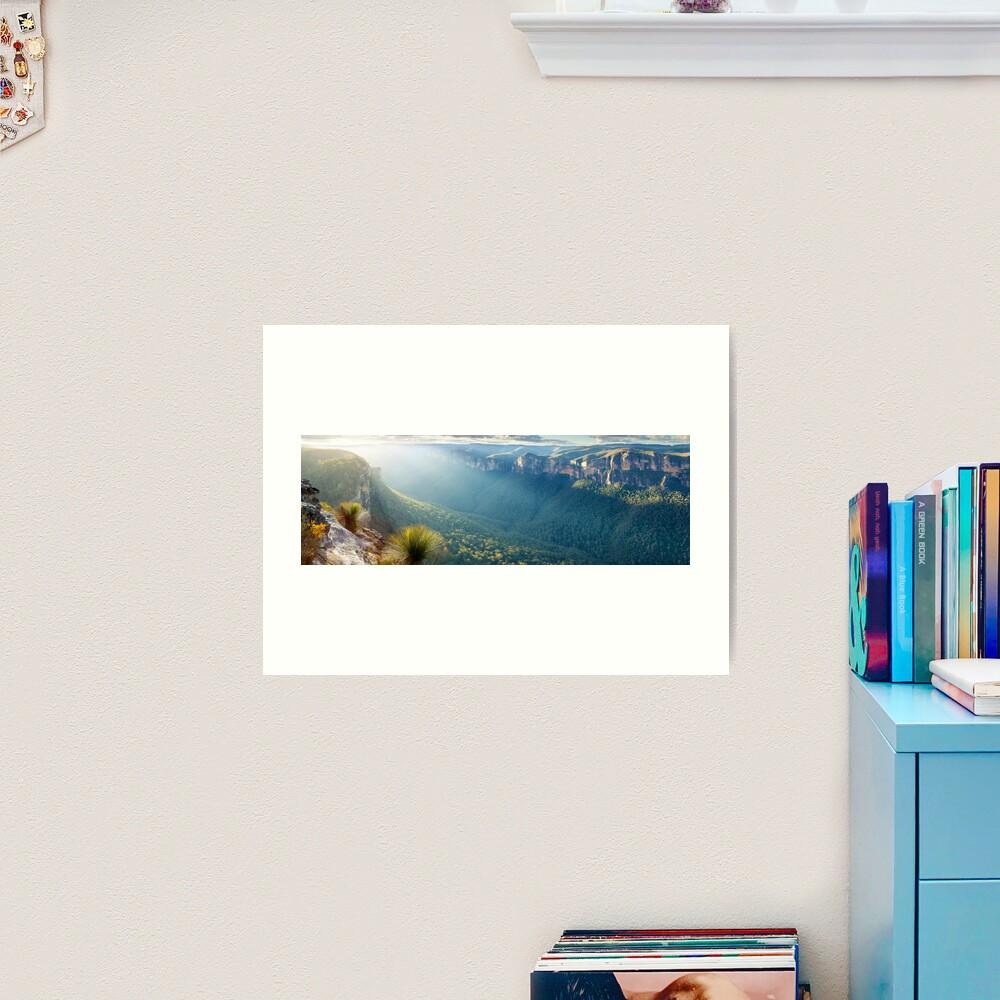 Perrys Lookdown, Blue Mountains, New South Wales, Australia Art Print