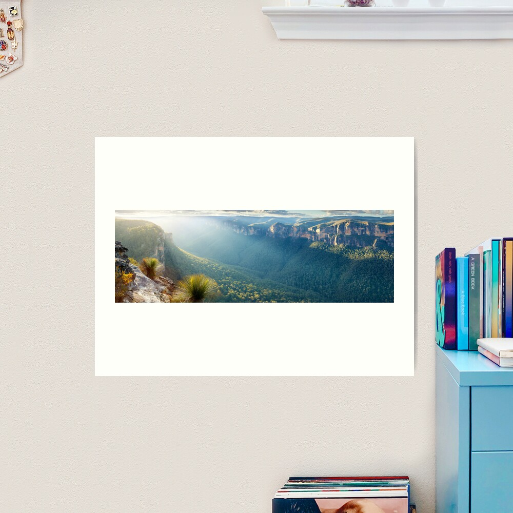 Perrys Lookdown, Blue Mountains, New South Wales, Australia Art Print