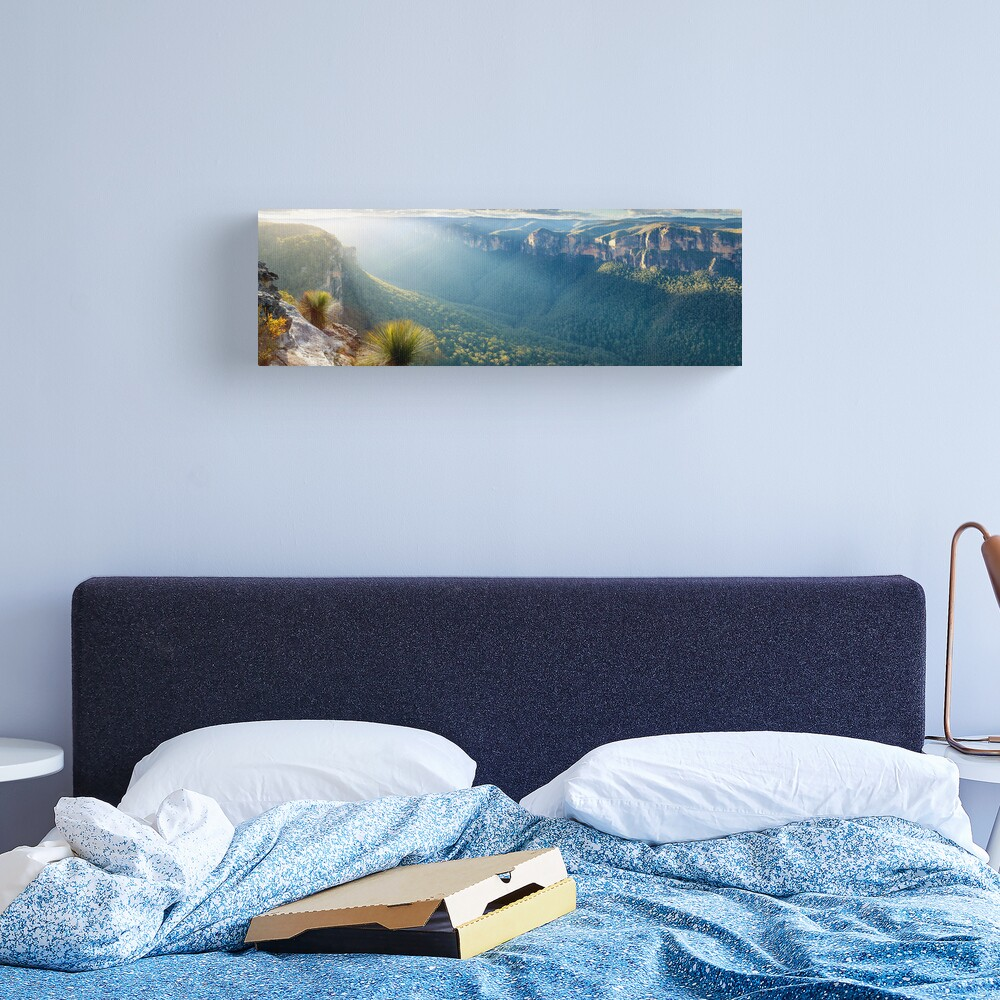 Perrys Lookdown, Blue Mountains, New South Wales, Australia Canvas Print