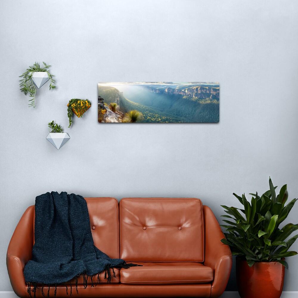 Perrys Lookdown, Blue Mountains, New South Wales, Australia Metal Print